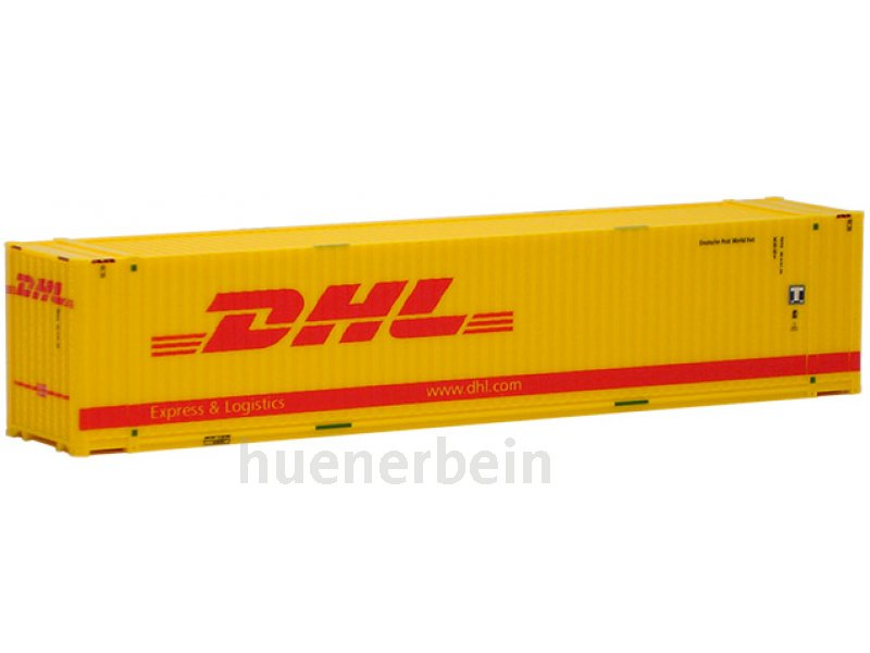 45ft container dhl mit l chern container h0 491795. Black Bedroom Furniture Sets. Home Design Ideas