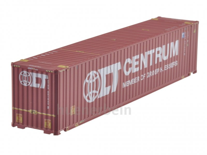 kombimodell 45 39 fuss container wb a hc centrum rot h0 1 87 neu ovp ebay. Black Bedroom Furniture Sets. Home Design Ideas