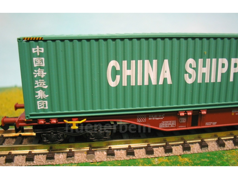 rockyrail 60118 sncb 6 achs containerwagen sggmrss90 china. Black Bedroom Furniture Sets. Home Design Ideas